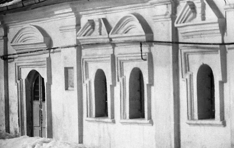 1987 р. Фрагмент південного фасаду. Вигляд з південного сходу