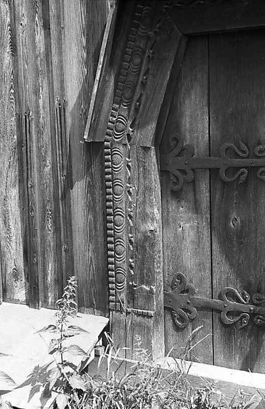 1987 р. Фрагмент південних дверей