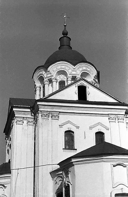 1987 р. Верхня частина. Вигляд із заходу