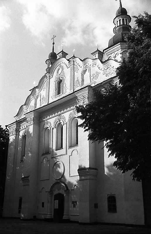 1987 р. Західний фасад. Вигляд з південного заходу