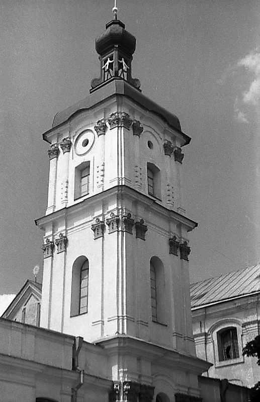 1987 р. Південна дзвіниця. Верхня частина. Вигляд з півдня