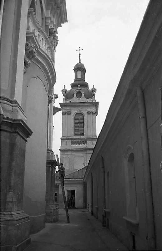 1987 р. Дзвіниця. Вигляд зі сходу