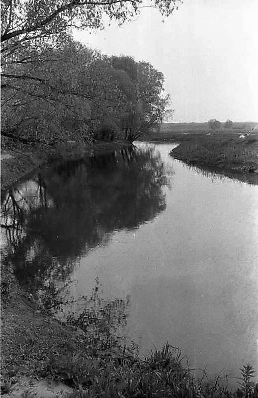 1988 р. Вид на ріку Трубіж