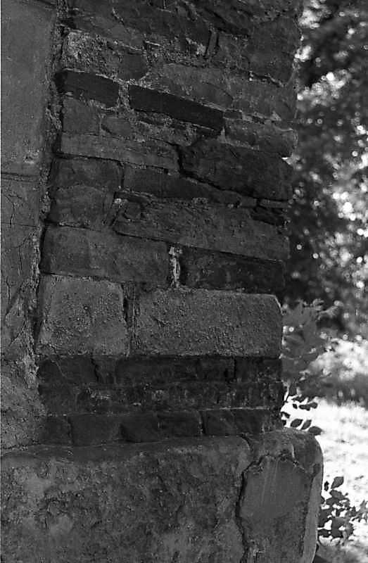 1988 р. Ріг бічного фасаду