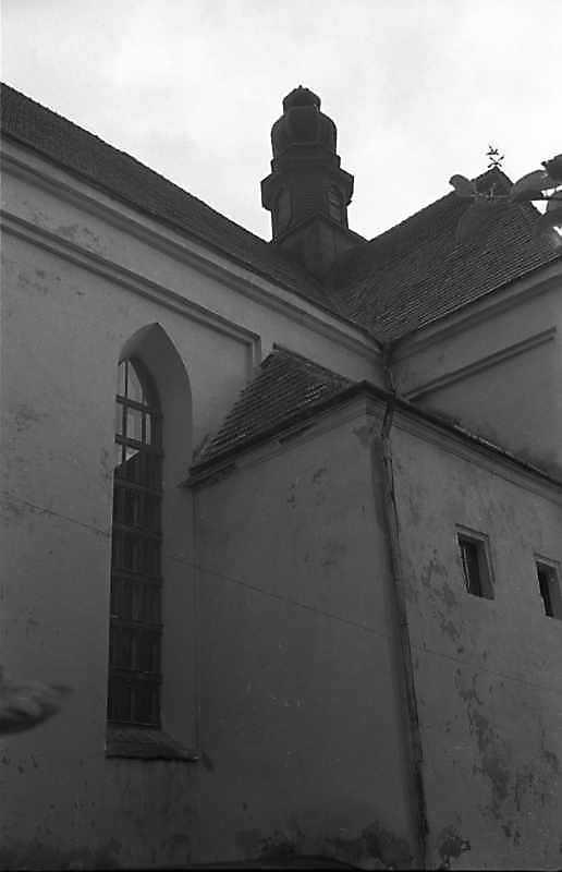 1988 р. Фрагмент південного фасаду. Вигляд з південного заходу