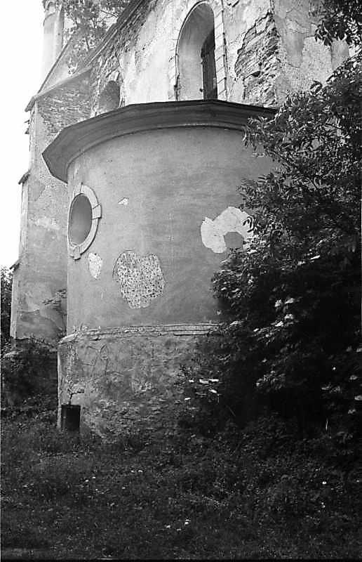 1988 р. Бічна каплиця. Вигляд з позиції С1
