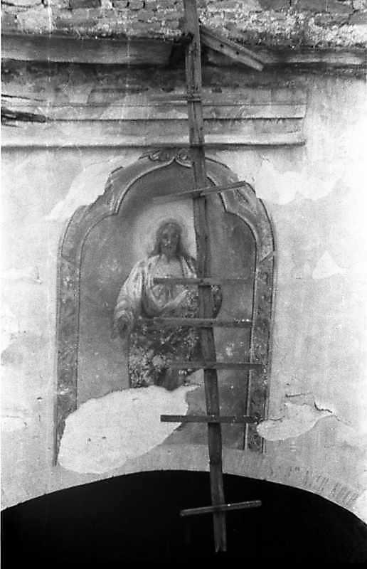 Образ Христа над аркою вівтаря