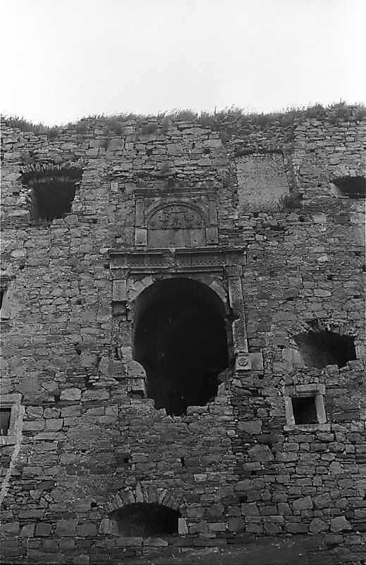 1988 р. Центральна частина башти 7. Вигляд з південного заходу
