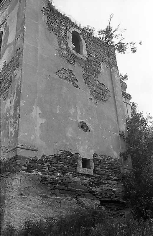 1988 р. Південна башта. Вигляд з півдня