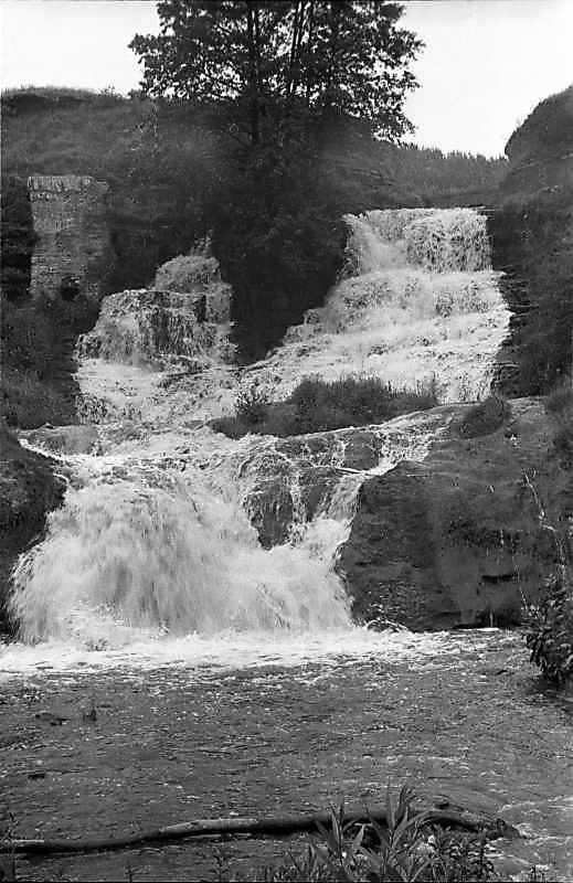 1988 р. Загальний вигляд водоспаду
