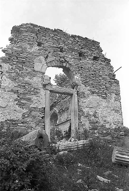 1988 р. Головний фасад. Вигляд з позиції С3