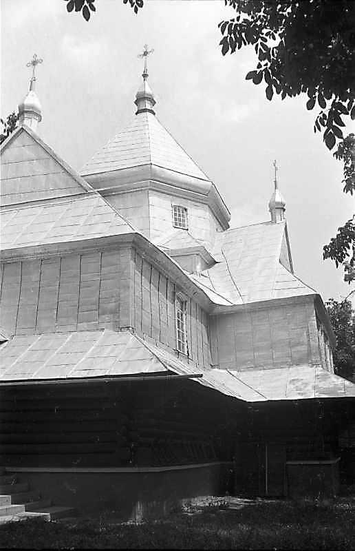 1988 р. Бічний фасад. Вигляд з позиції С3