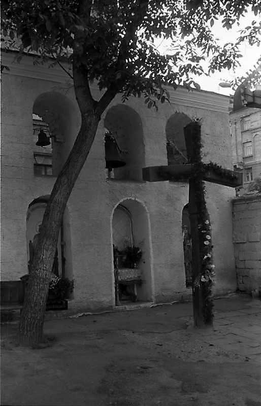 1988 р. Дзвіниця. Вигляд з південного заходу