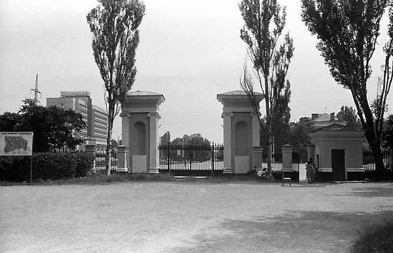 1988 р. Загальний вигляд з боку парку