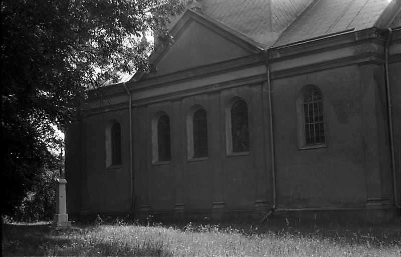 1988 р. Північний фасад. Вигляд з північного заходу