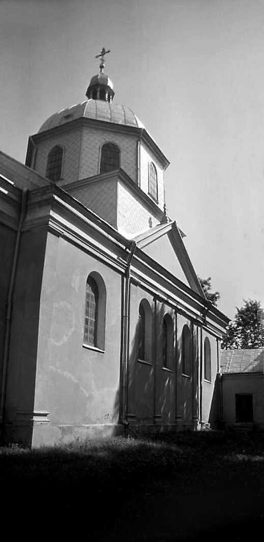 1988 р. Південний фасад. Вигляд з південного заходу