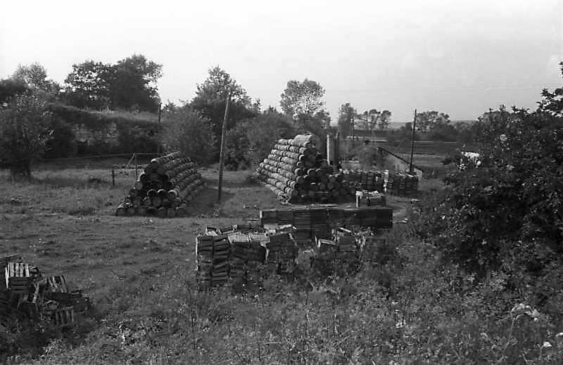 1988 р. Фрагмент двора (права частина)