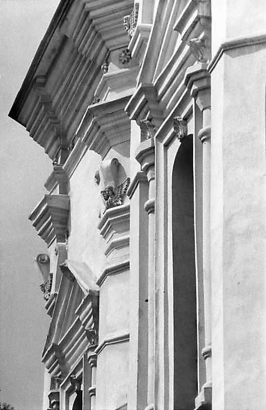 1989 р. Ґзимс південного рамена і вікно вівтаря. Вигляд з північного сходу