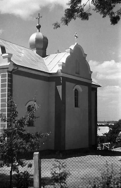 1989 р. Бічний фасад. Вигляд з позиції А3