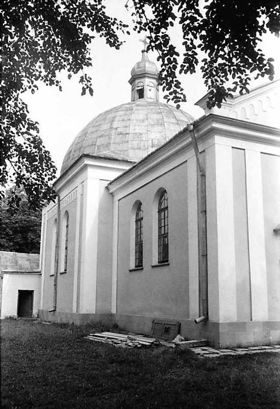 1989 р. Бічний фасад. Вигляд з позиції А4