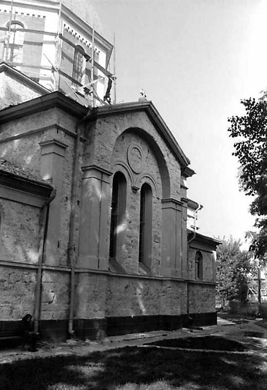 1989 р. Бічний фасад. Вигляд з позиції А1