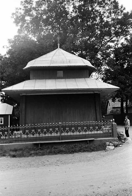 1989 р. Дзвіниця. Вигляд зі сходу