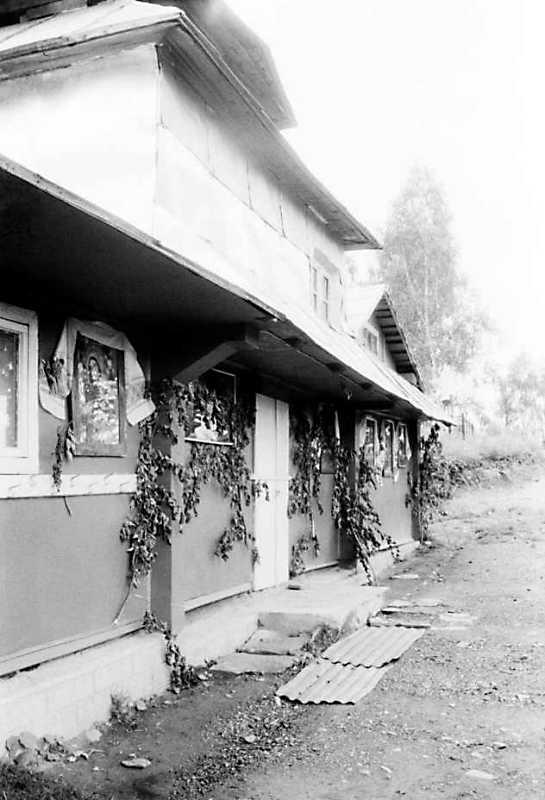 1990 р. Бічний фасад. Вигляд з позиції С3