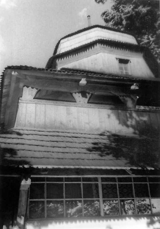 1990 р. Галерея бабинця. Вигляд з позиції С3
