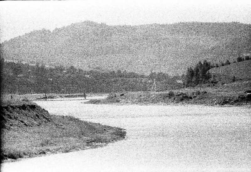 1990 р. Вид на р.Стрий біля с.Ісаїв