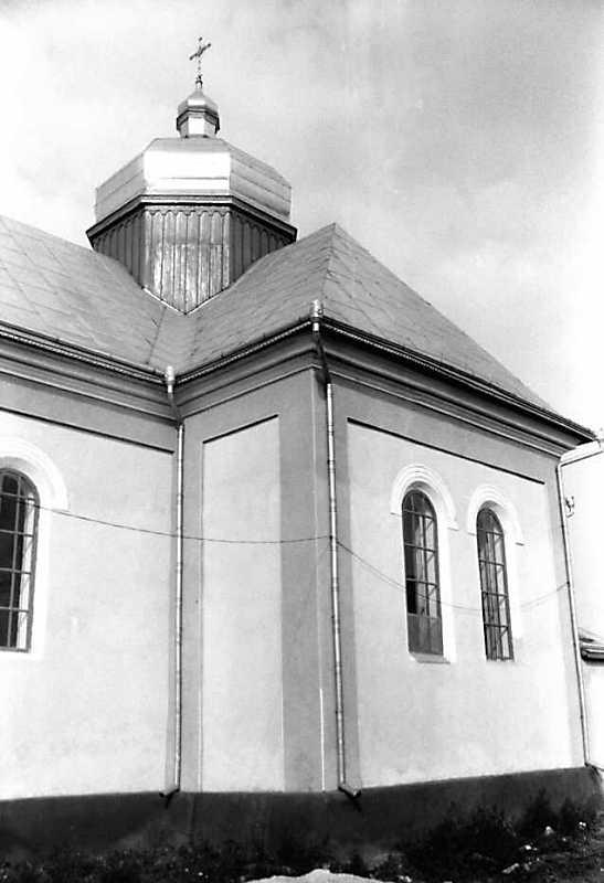 1990 р. Південний фасад. Вигляд з південного заходу