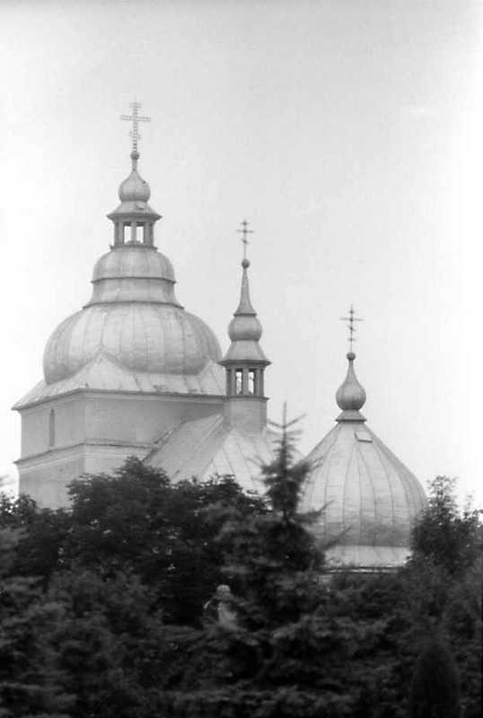 1990 р. Верхи. Вигляд з південного сходу