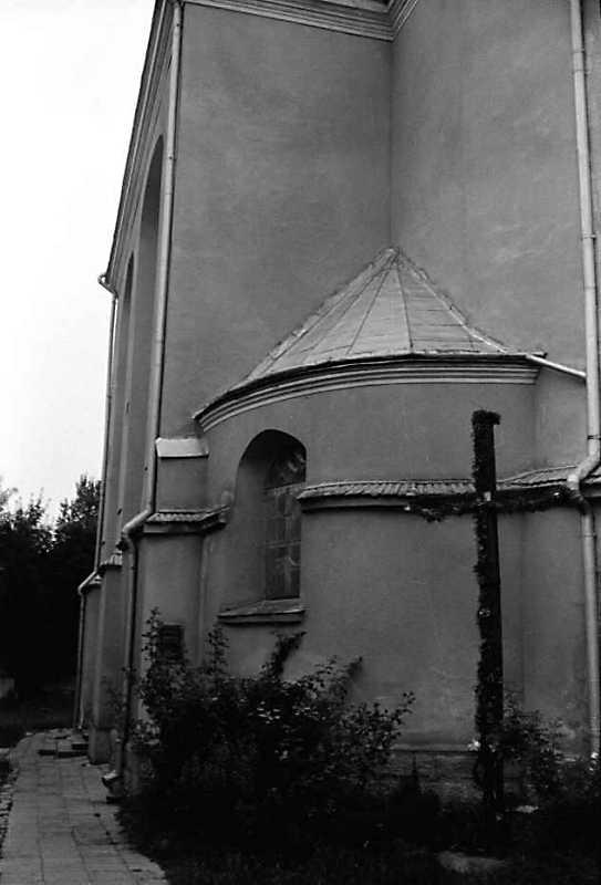 1990 р. Південний фасад. Вигяд зі сходу