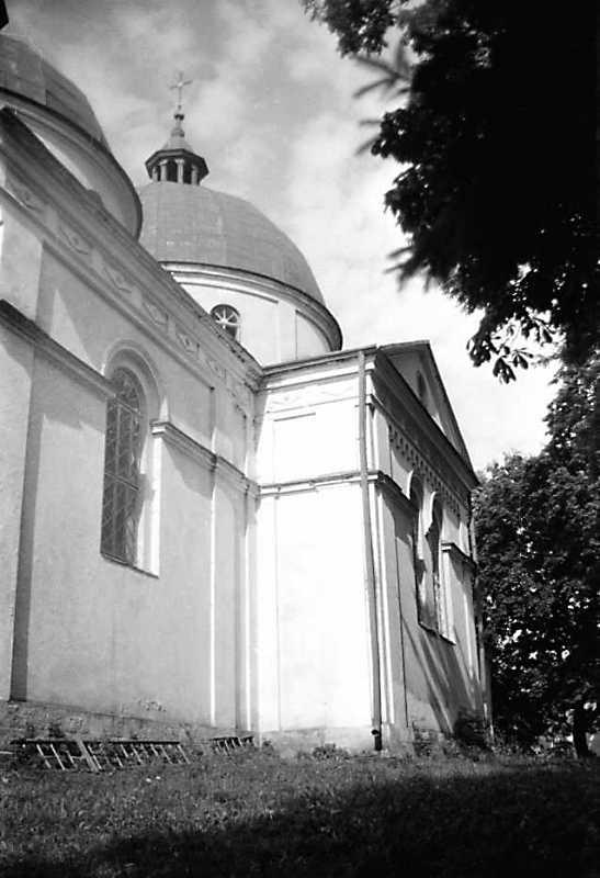 1990 р. Бічний фасад. Вигляд з позиції А3
