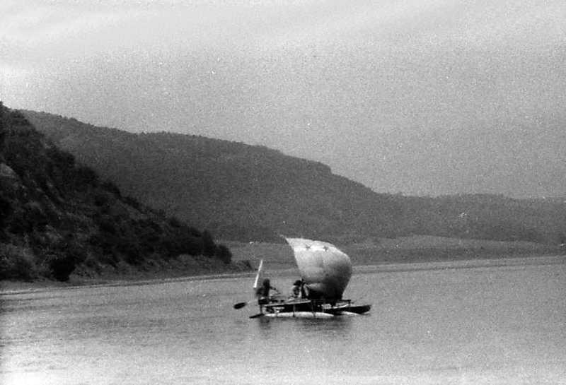 1991 р. Вид Дністра біля с.Репужинці