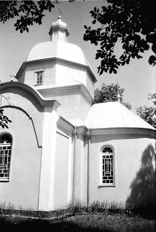 1991 р. Нава і вівтар. Вигляд з південного сходу