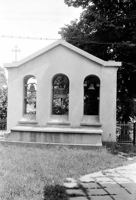 1991 р. Дзвіниця. Вигляд з позиції С2