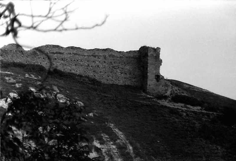 1991 р. Мур і південна башта. Вигляд з південного заходу