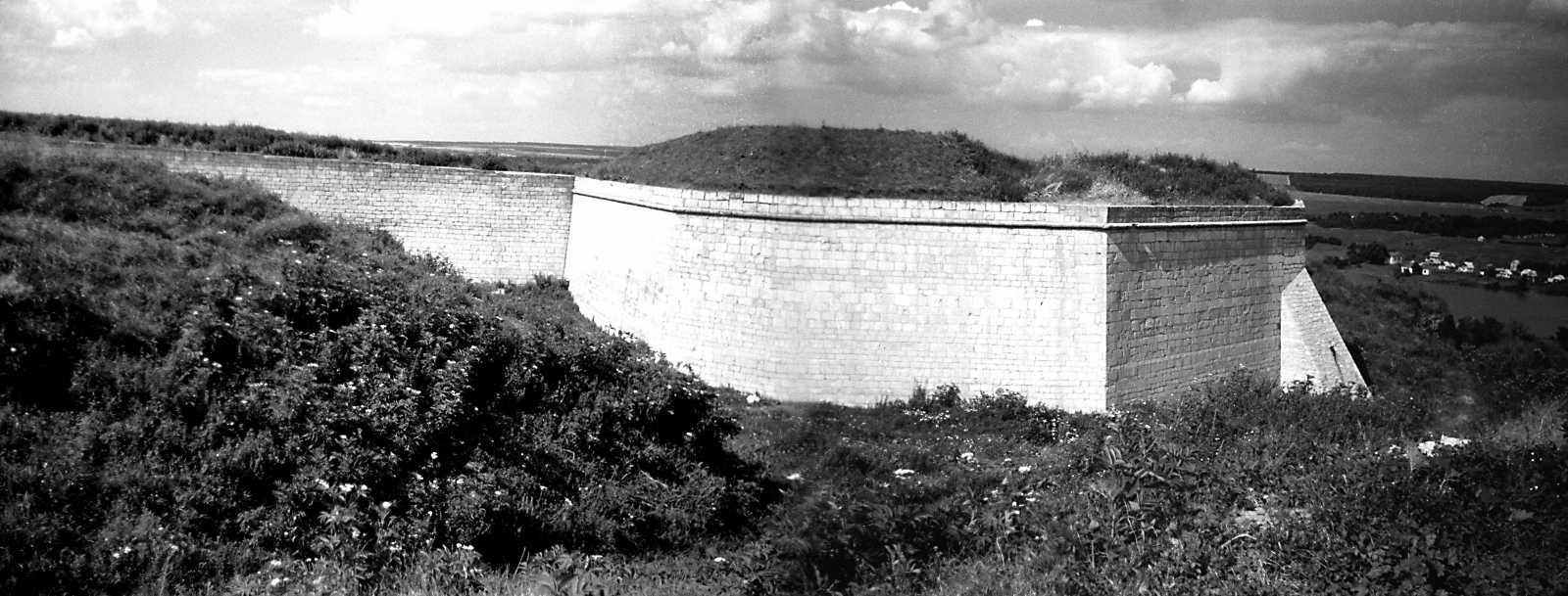 1991 р. Бастіон 1. Панорама з південного заходу
