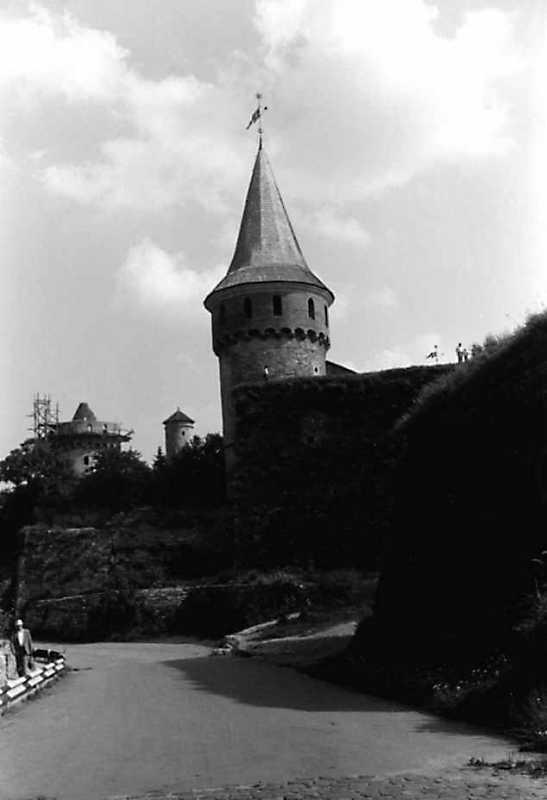1991 р. Башти Лянцкоронська, Комендантська і Рожанка. Вигляд з північного заходу
