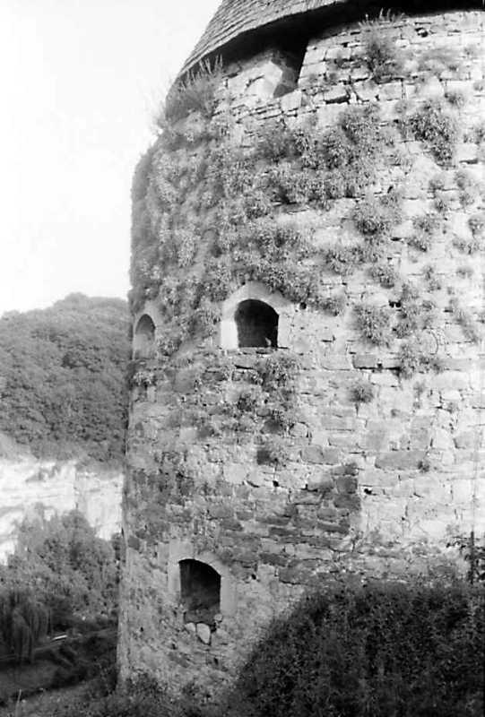 1991 р. Гончарська башта. Вигляд з північного заходу