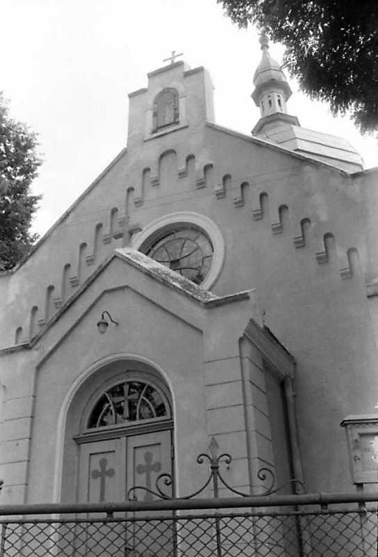 1991 р. Фрагмент головного фасаду. Вигляд з позиції С3