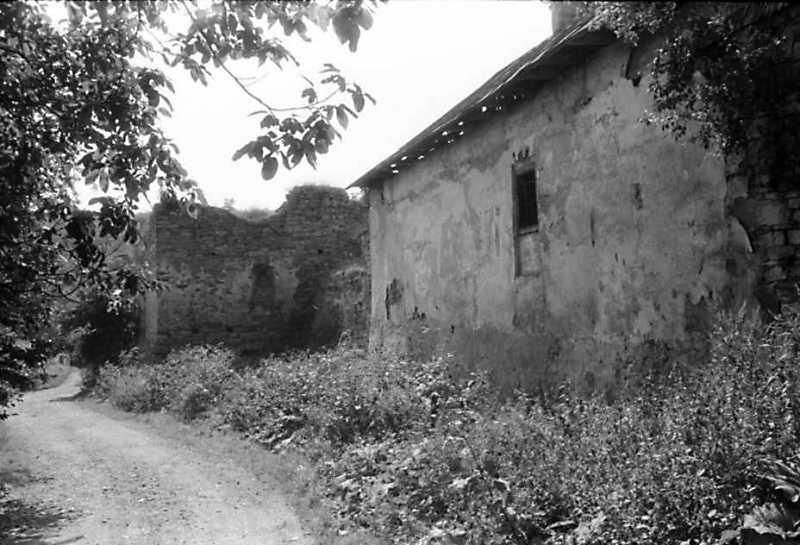 1991 р. Східна башта 5 і корпус 4. Вигляд з півночі