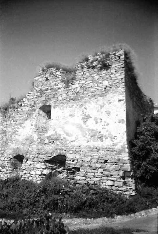 1991 р. Східна башта. Вигляд з південного сходу