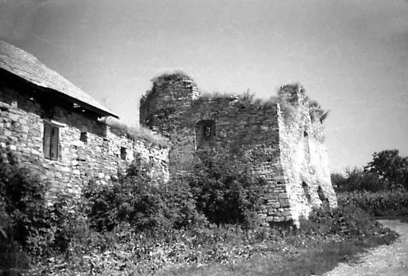1991 р. Корпус 6 та східна башта. Вигляд з південного заходу