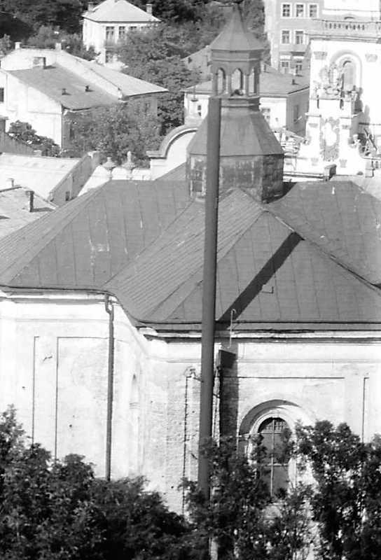 1991 р. Загальний вигляд з позиції С1 із замку