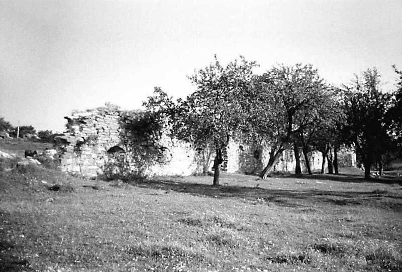 1991 р. Західний мур. Вигляд з північного заходу