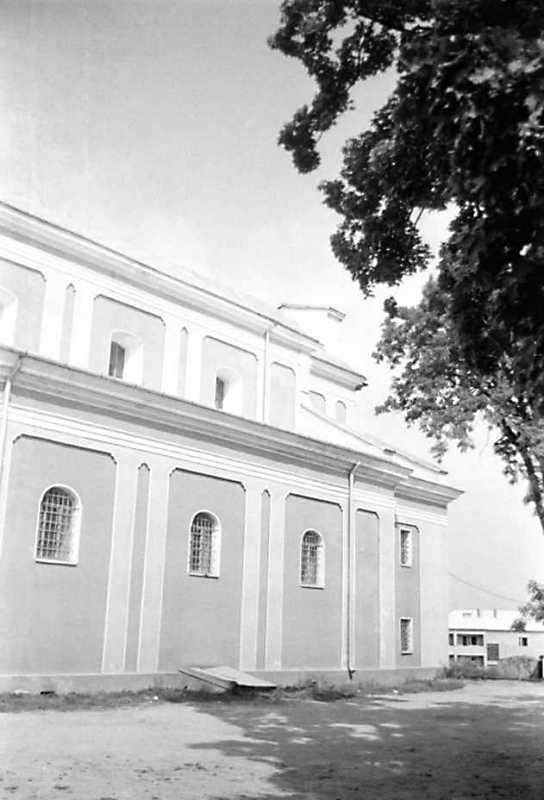 1991 р. Бічний фасад. Вигляд з позиції А3
