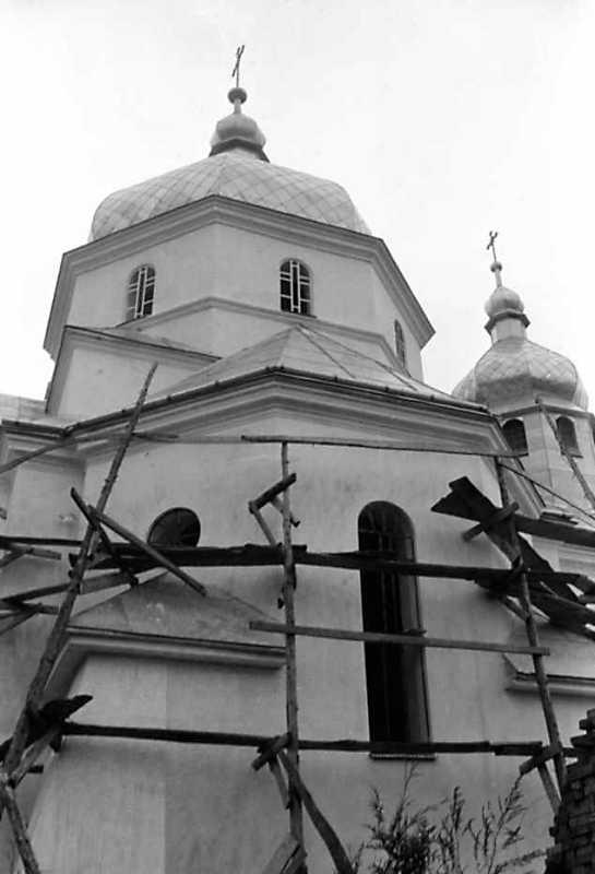 1991 р. Нова церква. Нава. Вигляд з півдня