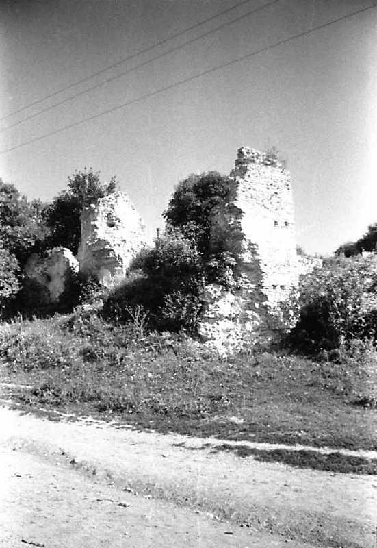 1991 р. Південно-західна башта. Вигляд з південного заходу