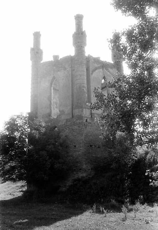 1991 р. Північна башта. Вигляд з північного заходу